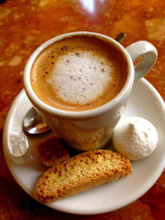 Focus On Paris: Un café noisette