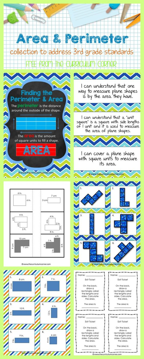Worksheet Free Elementary Curriculum worksheet free elementary curriculum mikyu area perimeter collection of resources for 3rd grade from the curriculum