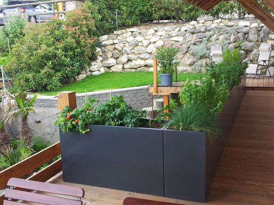 jardini re en fibre ciment bacs en garde corps by image 39 in. Black Bedroom Furniture Sets. Home Design Ideas