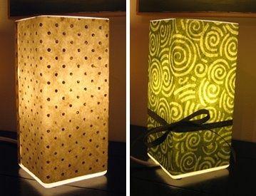 Decoupage a Grono Lamp from IKEA