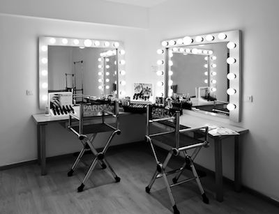 Coiffeuse de star make up maison pinterest coins for Miroir virtuel coiffure