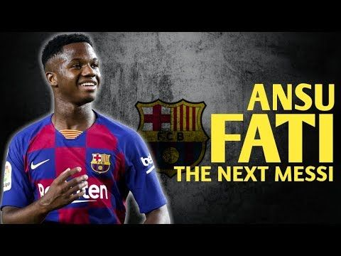 The True Story Of Ansu Fati The Next Messi Youtube Messi True Stories Next