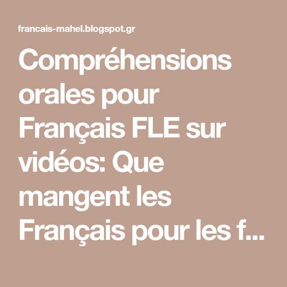 Resultado de imagen de Comprehension orale mahel