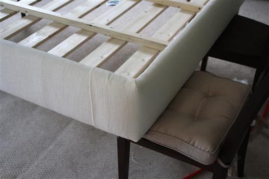 DIY Platform Bed: Upholstering the Platform
