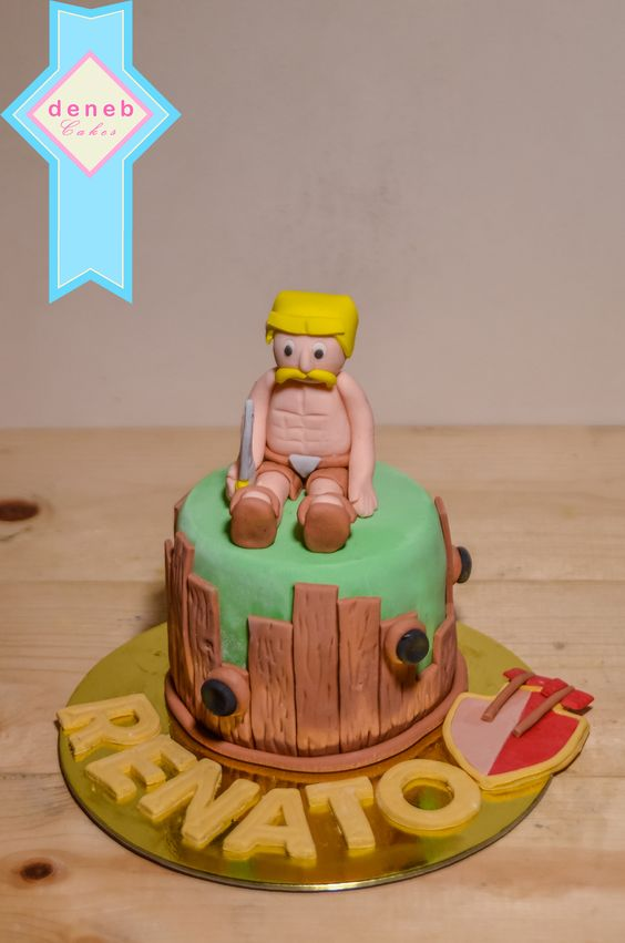 Cake Design Coc : Clash of Clan mini cake for a COC addict. Artsy Cakes ...