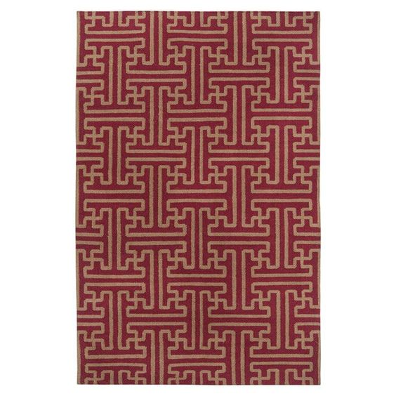 Archive Brick/Gold Area Rug