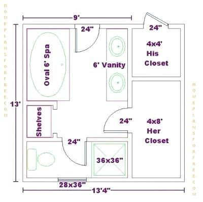 A Comprehensive Overview On Home Decoration In 2020 Bathroom Floor Plans Master Closet Layout Master Bathroom Layout