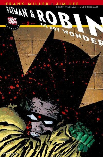 Batman Frank Miller Cover