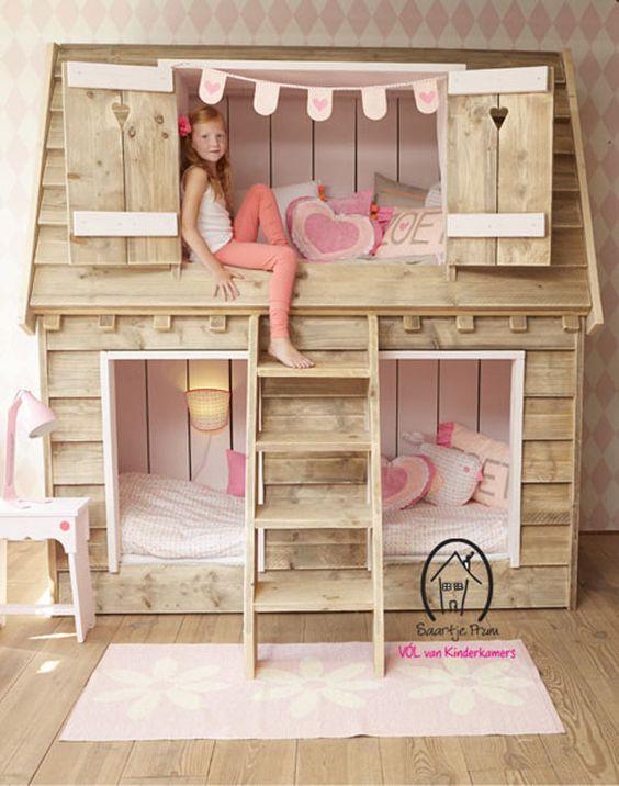 21 quartos com beliches selecionados pelo Pinterest - Casa: