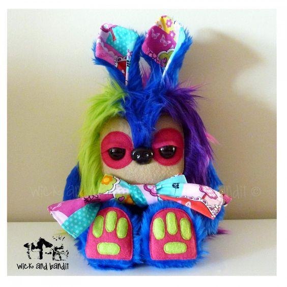 $60 Inessa Yetirabbit by Wickandbandit on Handmade Australia