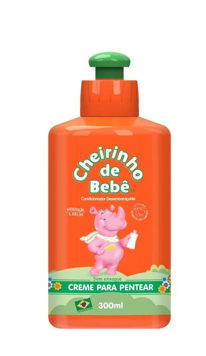 Creme de Pentear Cheirinho de Bebê! Ideal para desembaraçar os cabelos crespos ou encaracolados dos pequeninos!