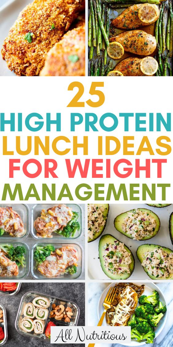25 High Protein Lunch Ideas for Weight Management