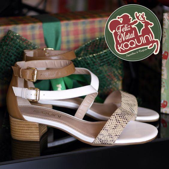 Parece que você está descalça, mas está com uma Koquini nos pés. #koquini #sapatilhas #euquero #saltobloco Compre Online: http://koqu.in/1tv4Oc4