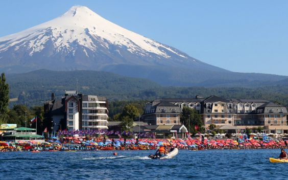Pucon is a popular destination for vacationers