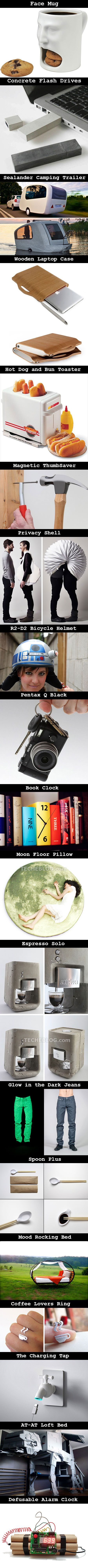 simple yet clever gadgets and accessories.