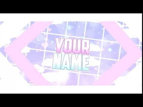 Tumblr Dreamy Pastel Intro Template Youtube Lagu Gambar Bergerak Gerak