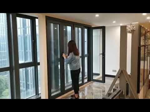 Aluminum Bi Fold Door With Retractable Screen Contact Us If Interest Wha In 2020 Bifold Doors Door Design Interior Folding Doors
