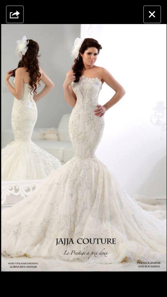 jajja couture france mermaid wedding dress wedding pinterest mermaids mermaid wedding. Black Bedroom Furniture Sets. Home Design Ideas