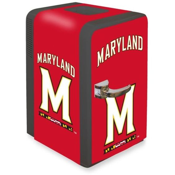 Boelter Red Ncaa Maryland Terrapins Portable Party Refrigerator ($300) ❤ liked on Polyvore featuring home, home improvement, household appliances and red
