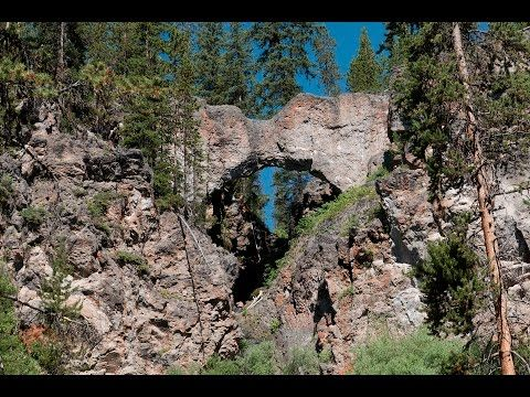Natural Bridge - Hike 734 Video blog, trail description, and photos of Natural Bridge day hike in Yellowstone National Park.