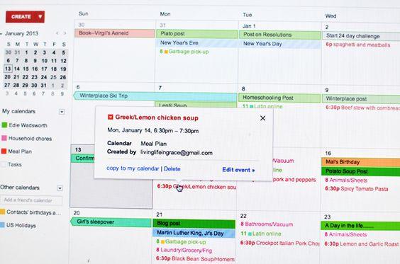 Electronic Calendar Planner : Pinterest the world s catalog of ideas