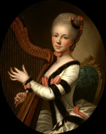 Mademoiselle Desroches s. Fromageau, Madeleine-Nicole Julie (1753-1771)