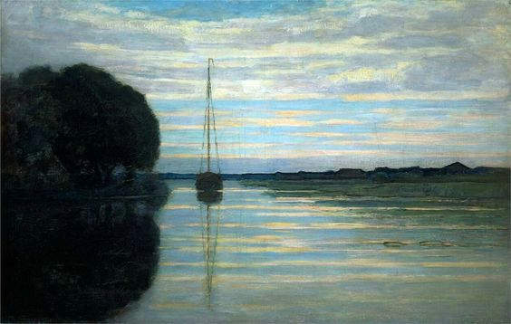 Piet Mondrian  River view