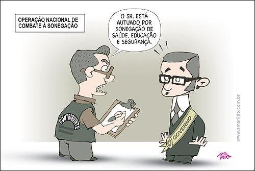 PROF. FÁBIO MADRUGA: Sonegar imposto é errado? Nem sempre. No Brasil, é...: