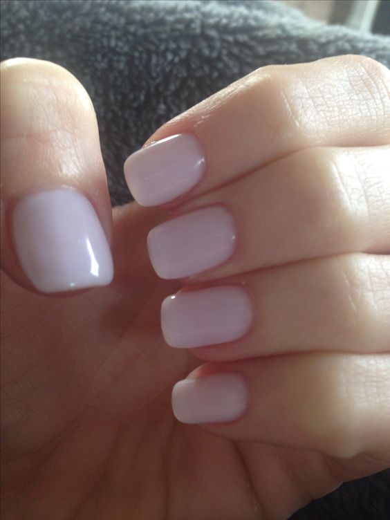 """Favorite neutral nail color lately... """"Don't Burst My Bubble"""" by OPI. This is 3 coats of the no chip polish"""