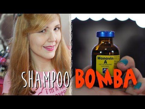 Como fazer shampoo bomba + Tudo sobre Monovin A - YouTube