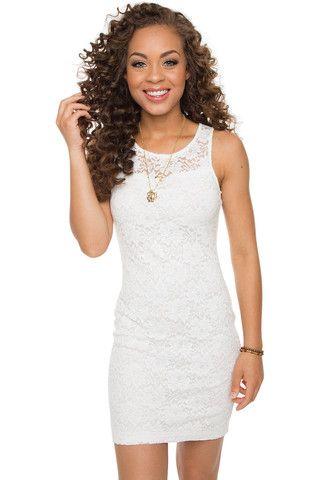 Viva Forever Dress - White