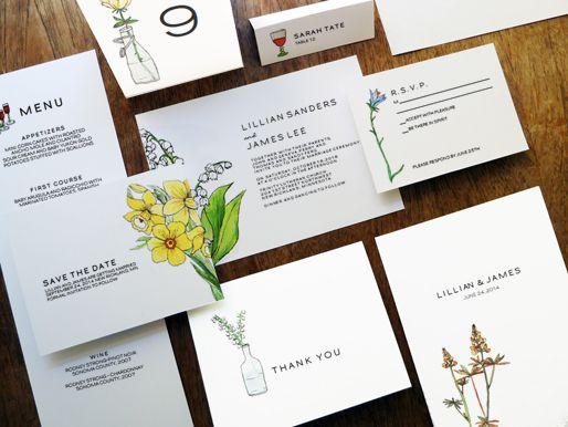 Printable Wedding Set - LeMayr