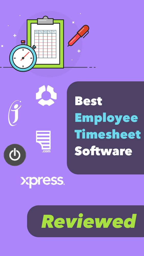 Best 25+ Timesheet software ideas on Pinterest Online timesheet - monthly timesheet calculator