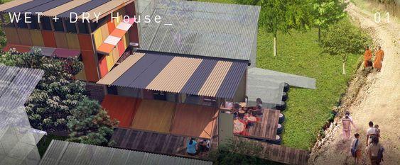 Propostas Vencedoras do Concurso de Casas do Futuro do Camboja