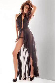 Noir Handmade Dessous Langes Kleid F061 www.lingerie4me.de/Party-Clubwear/Kleider/Noir-Handmade-Dessous-Langes-Kleid-F061-schwarz::1854.html #Clubwear #Reizwäsche #langeskleid #Noirhandmade #Lingerie4me