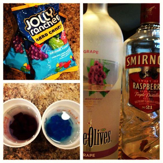 Jolly Rancher Vodka. Nom Nom!