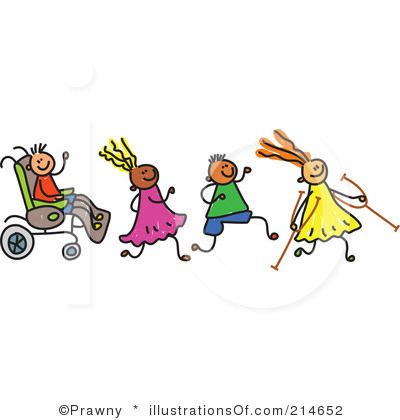 clip art for children with disabilities | Royalty-Free (RF) Disabled ...