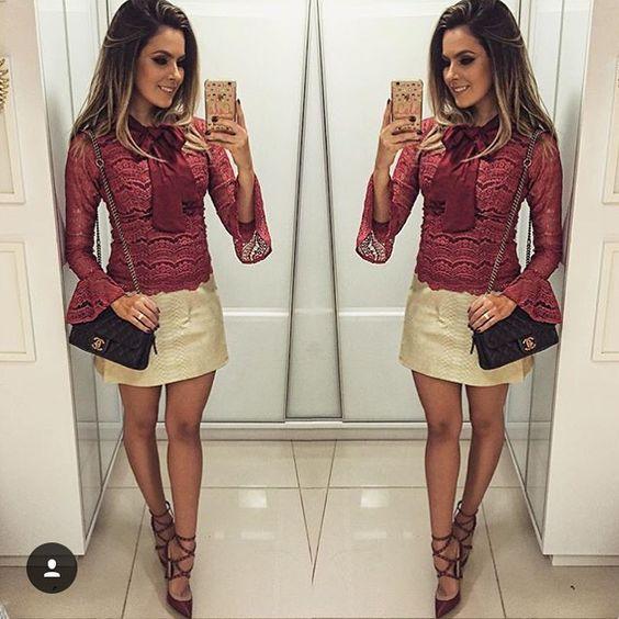 Inspiração @reuchoam ❤️! Adorei esse look! #prontaprabalada