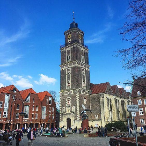 Coesfeld Marktplatz by detlefrathmer