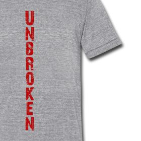 Unbroken | Roots of Truth ClothingDo you shopping early!  Unbroken is our best selling t-shirt! $10 off any order of $50 or more Coupon Code: SPREE10 Run Time: 18th November – 21st November, 2014 http://468530.spreadshirt.com/unbroken-A18937920/customize/color/251