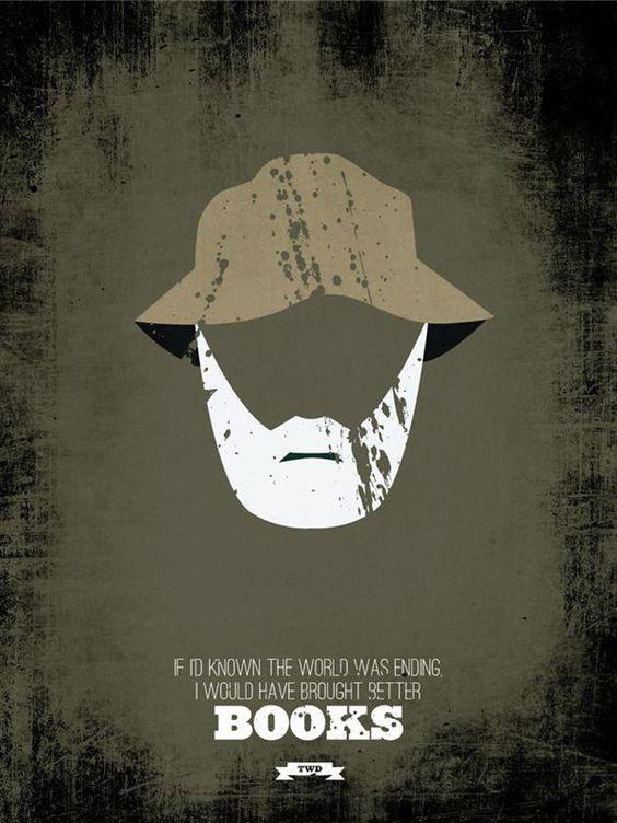 The Walking Dead: Pôster minimalista | Magnatas