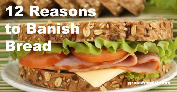 12 razões para não comer pão
