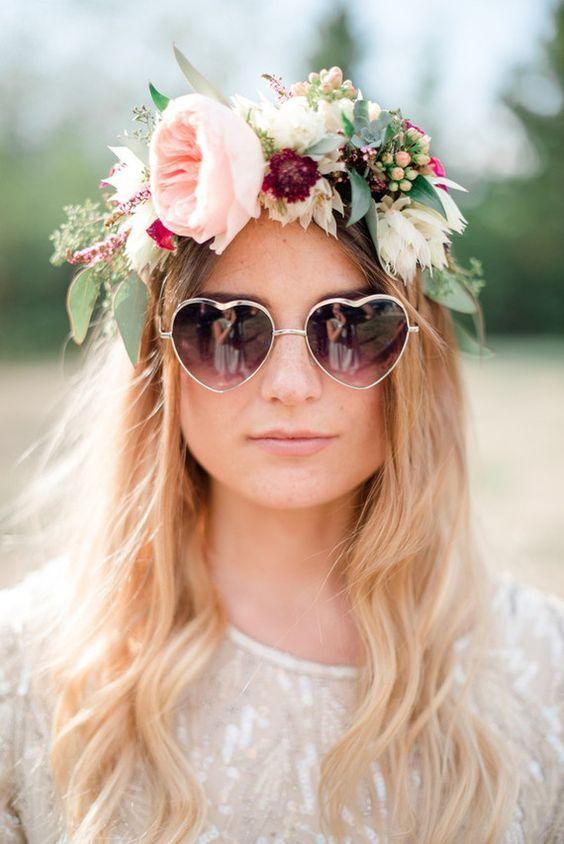 look mariee lunettes de soleil coeur
