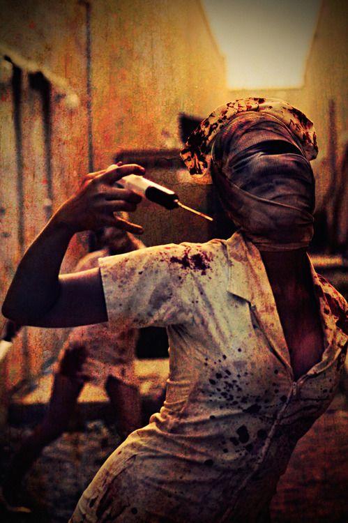 If I ever do a zombie walk:   Silent Hill Nurse by ~john8859 // Halloween Costume
