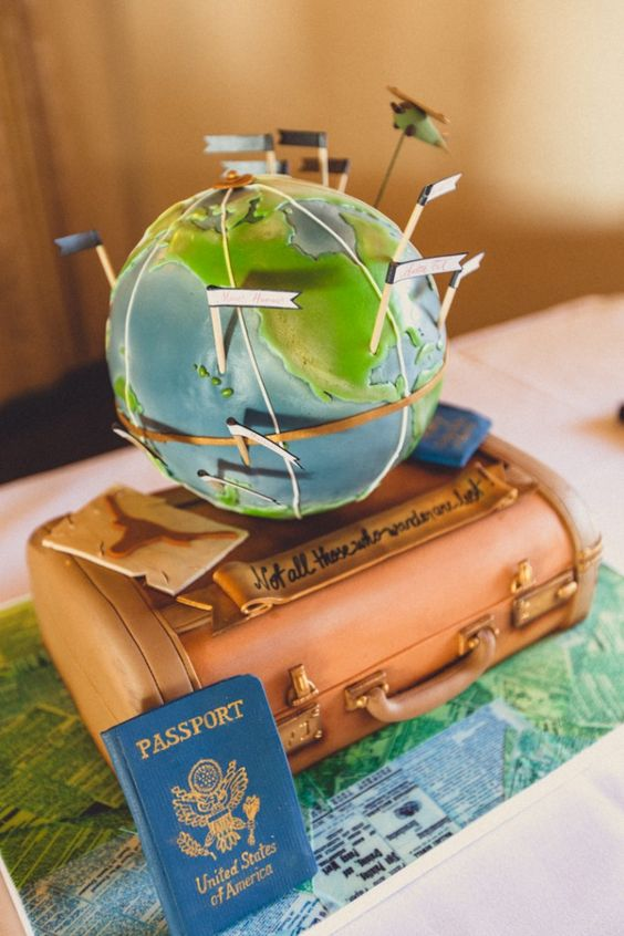 www.geodun.com. Travel cake by Polkadots Cupcake