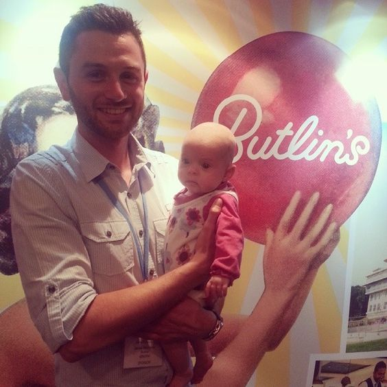 James from Butlins with Charlotte at #britmumslive