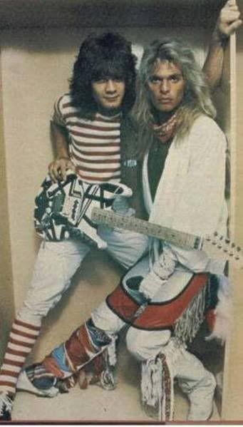 Eddie Van Halen David Lee Roth