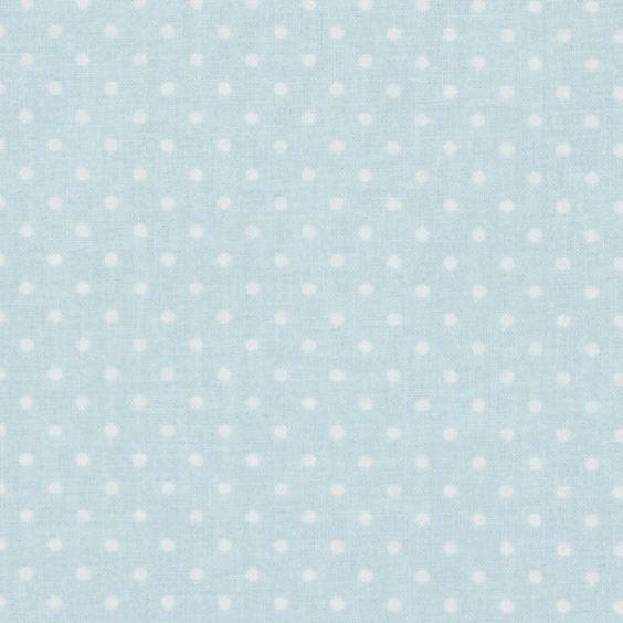 Classic Dots 0,2 cm, 21 - babyblau - Osterstoffe - Baumwollstoffe Punkte - Baby und Kind - Stoffe - Serenity - stoffe.de