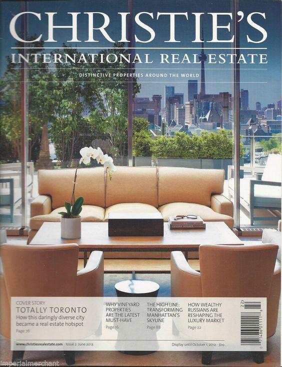 Christies International Real Estate magazine