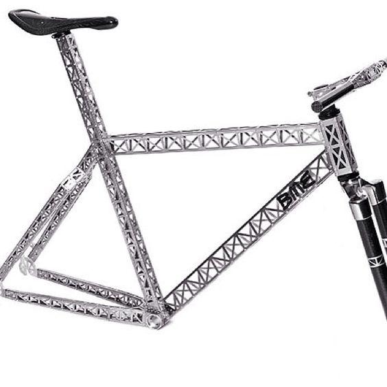 Riveted titanium bike III